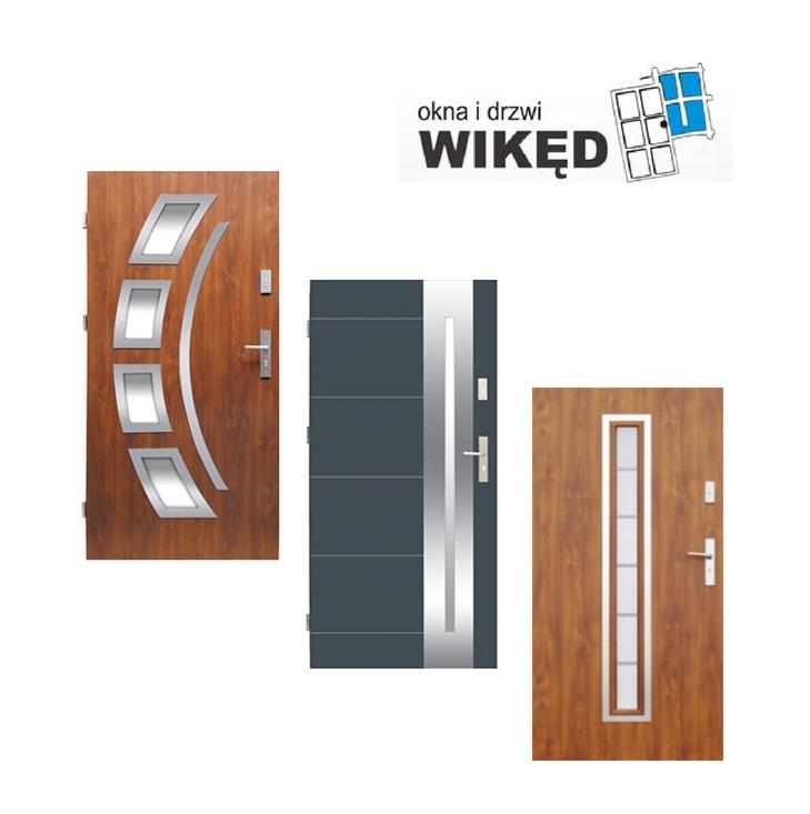 Drzwi drewniane Łęczna